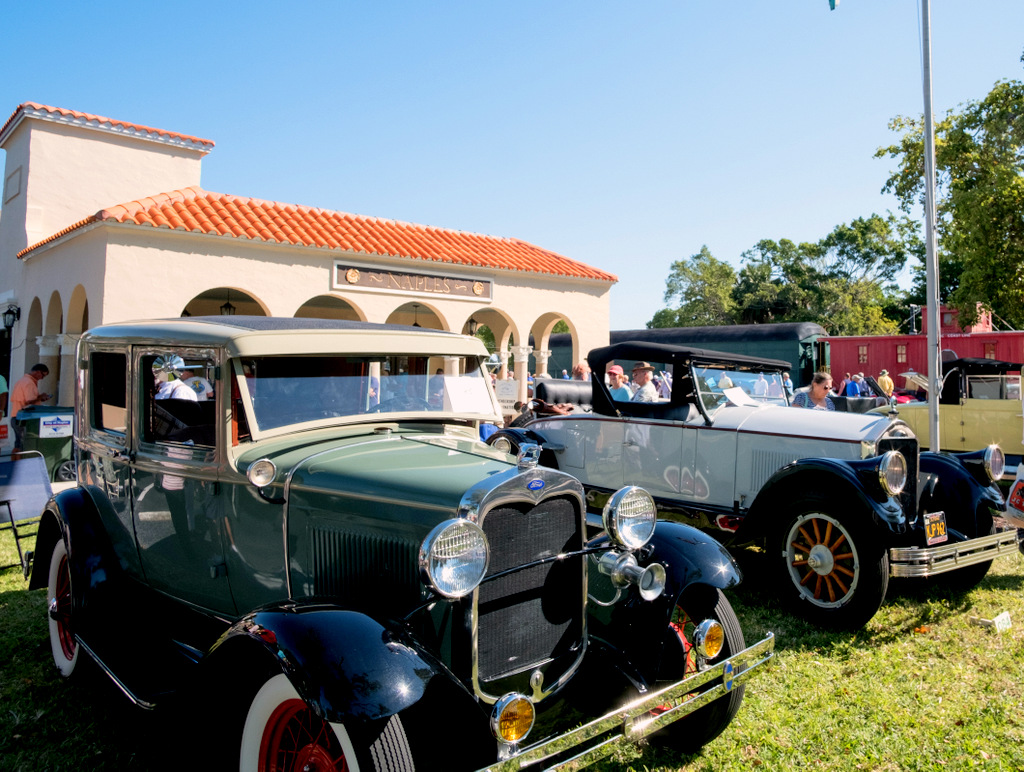 Naples Antique Car Show At Train Depot Museum JBIPix A - Naples car show 2018